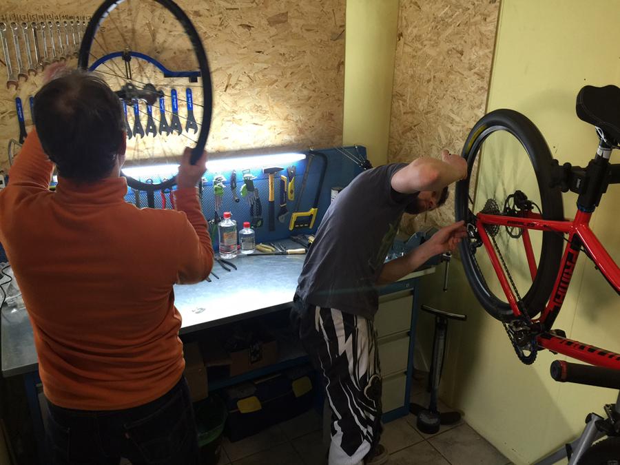 Блог компании TEAMMANO: Открытие велосервиса в Teammano