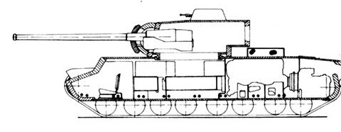 Т-220 («Объект 220», КВ-220, КВ-4) - опытный тяжёлый танк 3Y2kA
