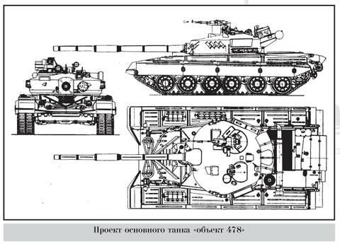 «Объект 478» - опытный основной боевой танк 4PmoR