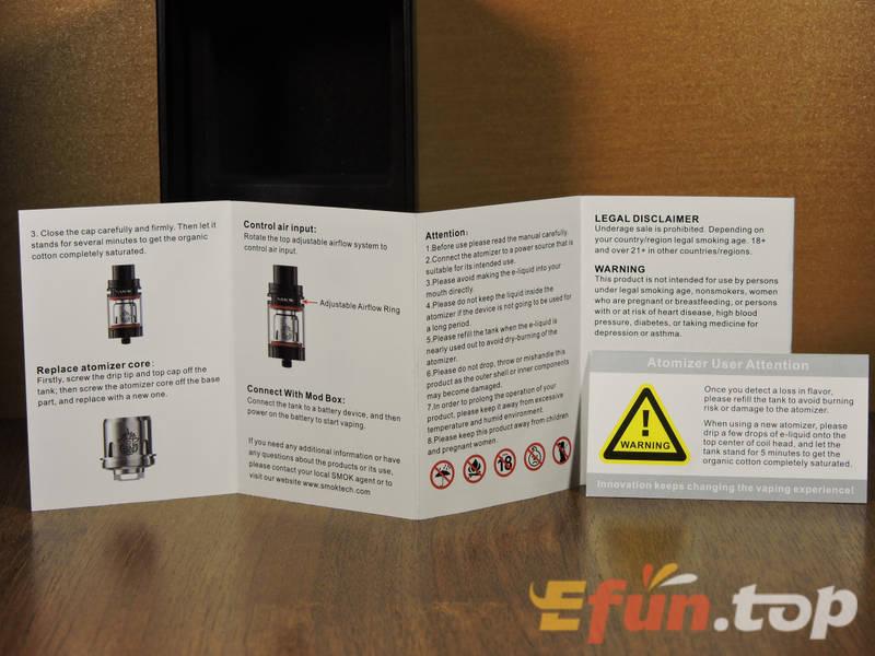 SMOK TFV8 X-Baby Beast RTA - верхнеобдувный зверюга 086