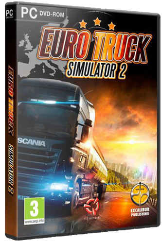 Euro Truck Simulator 2 [v 1.30.2.2s + 56 DLC] (2013) [RUS|MULTi] RePack от =nemos=