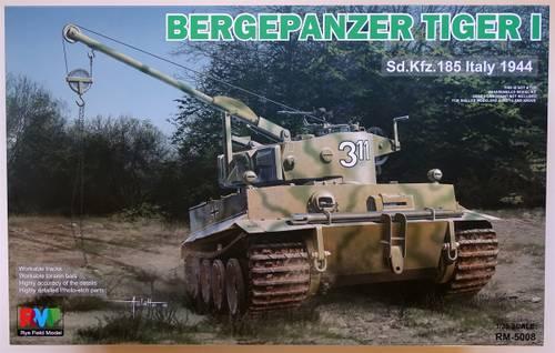 V4j5T 1:35 Bergepanzer Tiger I von Rye Field Model RM-5008.