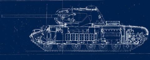 КВ-3 («Объект 223») - опытный тяжёлый танк CjJ8B