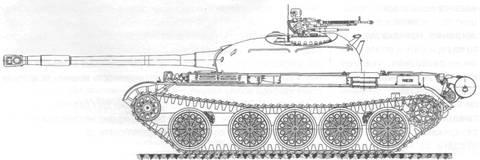 «Объект 141» - опытный средний танк HtbEa