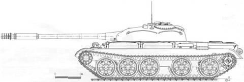 «Объект 142» - опытный средний танк NJc8e