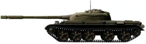 «Объект 142» - опытный средний танк WT1c2