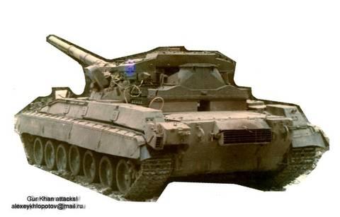 «Объект 477», «Объект 477А» - основной боевой танк (ОКР «Боксёр» / «Молот»). Y1dkp