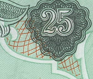 Монеты и купюры мира №74 25 динаров (Ирак)